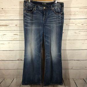 Silver Jeans. Aiko Super Stretch